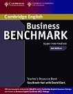 Business Benchmark: Учебна система по английски език - Second Edition : Ниво Upper Intermediate: Книга за учителя - Guy Brook-Hart, David Clark -