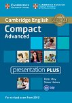 Compact - Advanced (C1): DVD Presentation Plus : Учебен курс по английски език - Simon Haines, Peter May -