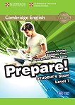 Prepare! - ниво 7 (B2): Учебник по английски език : First Edition - James Styring, Nicholas Tims, Annette Capel -