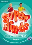 Super Minds - Ниво 3 (A1): Presentation Plus - DVD : Учебна система по английски език - Herbert Puchta, Gunter Gerngross, Peter Lewis-Jones -