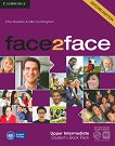 face2face - Upper Intermediate (B2): Student's Book Pack : Учебна система по английски език - Second Edition - Chris Redston, Gillie Cunningham -