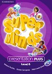 Super Minds - ниво 6 (A2 - B1): Presentation Plus - DVD по английски език - Herbert Puchta, Gunter Gerngross, Peter Lewis-Jones -
