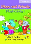 Hippo and Friends: Учебна система по английски език за деца : Ниво 1: Флашкарти - Claire Selby -