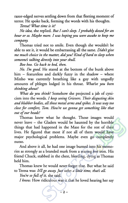 The Maze Runner книга